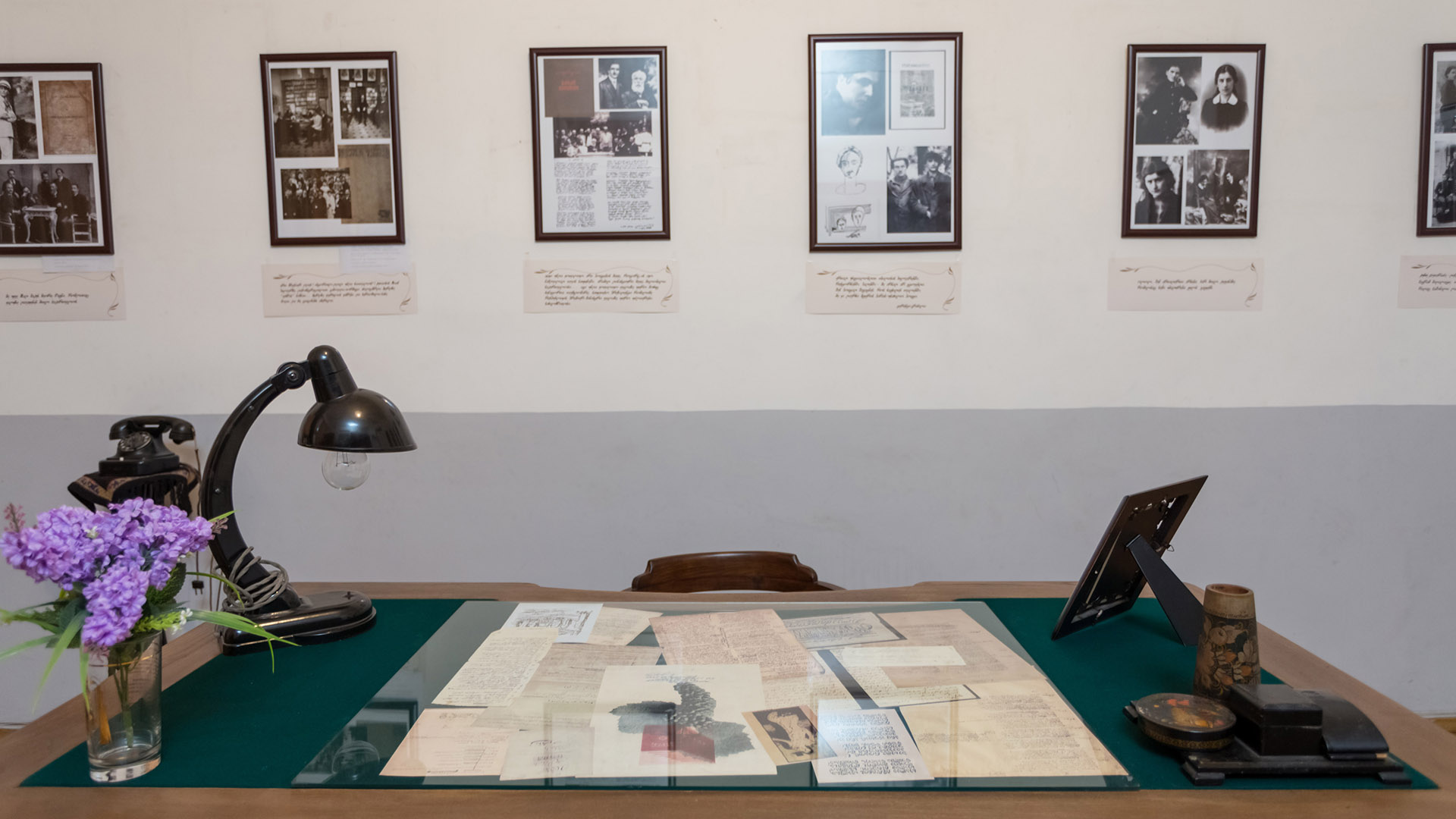 10b - Galaktion Tabidze Memorial House-Museum: Before/After